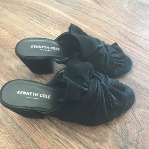 Black chunky heel Kenneth Cole Sandals